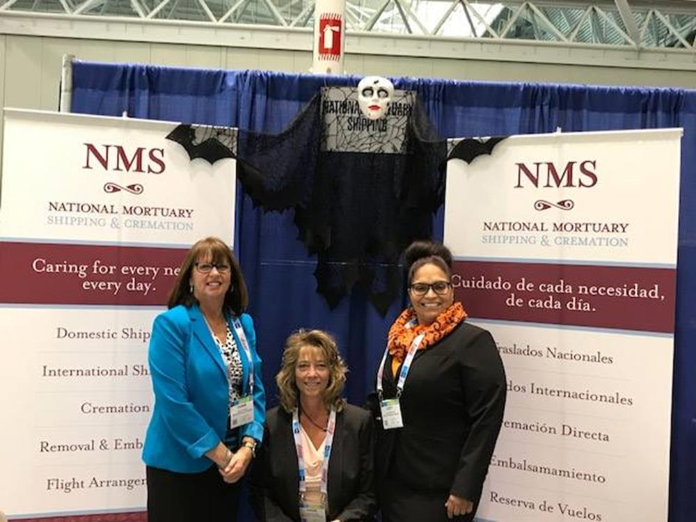 NMS Had a Great Time at the 2017 NFDA International Conference and Expo