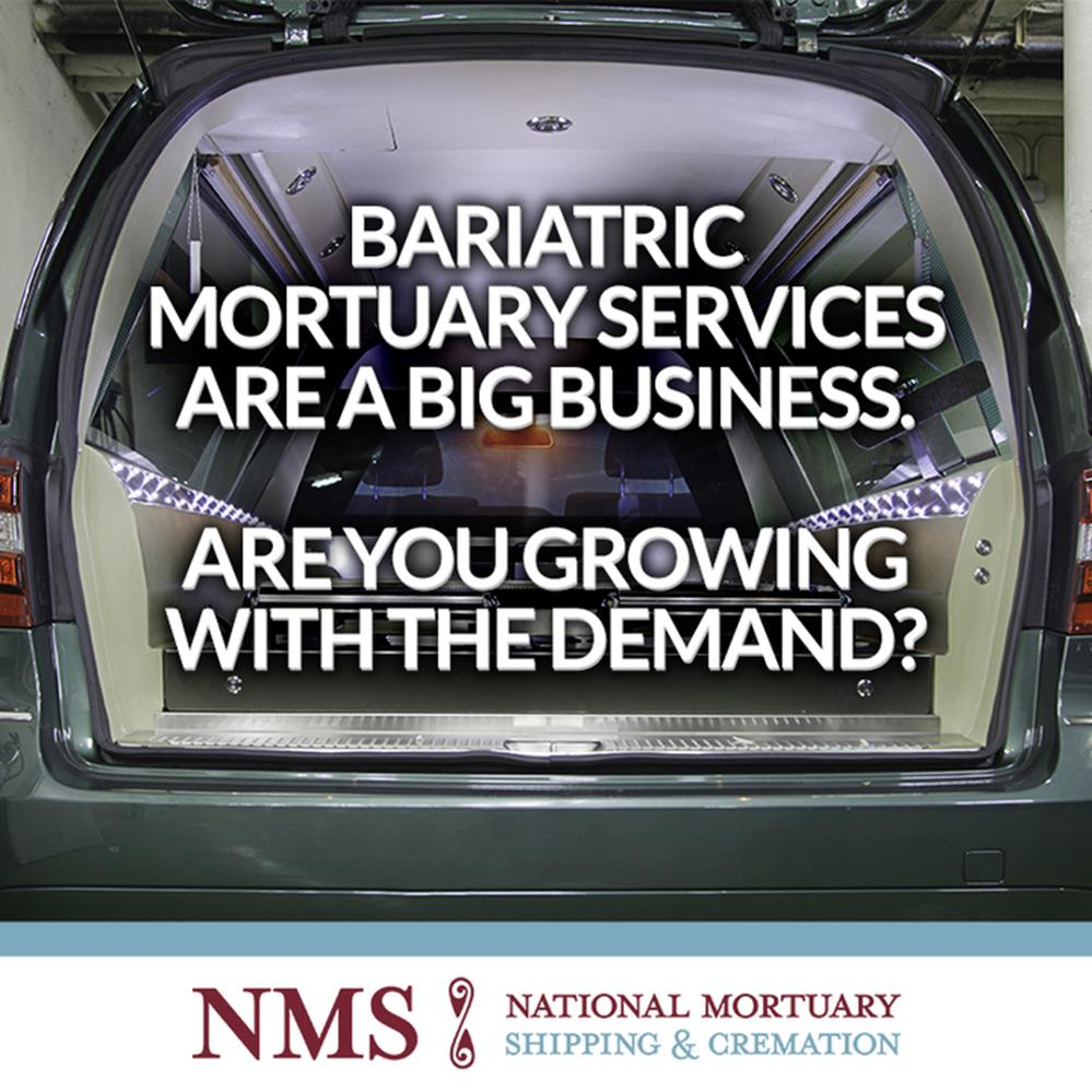 Are You Prepared For Success In The Bariatric Mortuary Boom?
